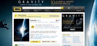 Gravity 2013 IMDb