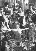 Natives sacrificing Ann