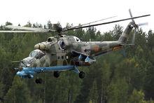 Russian Air Force Mil Mi-24PN Dvurekov-6