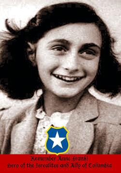 Anne frank columbia