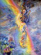Iris goddess