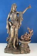 Hestia statue 1