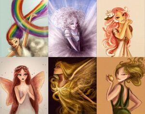 Six main goddesses 2
