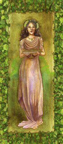 Amphictyonis greek goddess of wine and friendship by matildarose-d55kpkl