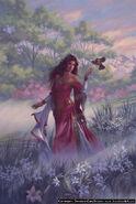 Hestia in fields