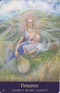 Demeter goddess of bread