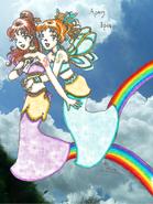 Twins Arke and Iris version fanart2