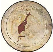 Aphrodite Riding a Goose