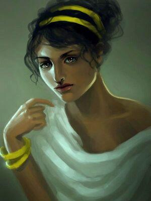 Greek woman by angel of shadows138