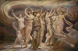 Elihu Vedder - The Pleiades, 1885