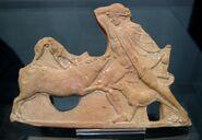 Terracotta Theseus Crommyonian Sow Staatliche Antikensammlungen