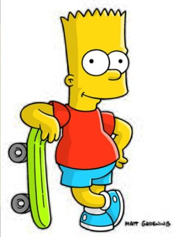 File:Bart with his skateboard.jpg