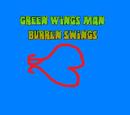 Green Wings Man - Burren Swings (book)