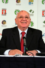 Gorbachev at Brisbane Earth Dialogues