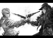 Brad and Raymond clash