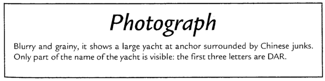 Photograph of yacht