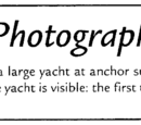 A photograph of yacht