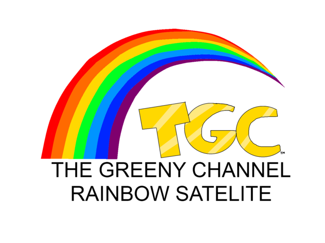 File:The Greeny Channel Rainbow Satelite logo.png