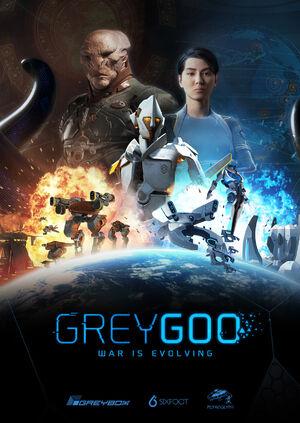 Grey goo poster portrait