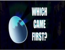 Which Came First Title Card