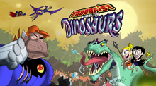 Underfist Versus the Dinosaurs Titlecard
