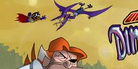 Underfist Versus the Dinosaurs