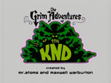 The Grim Adventures of the KND Titlecard