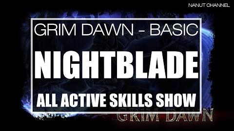 Nightblade All Active Skills