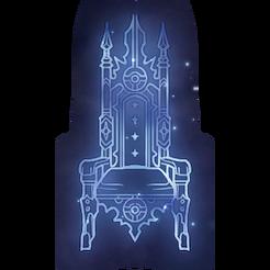 Empty Throne Constellation Icon