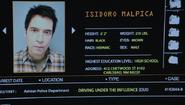 604-Isidoro Malpica police records