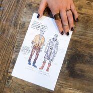 611-Costume Design Concept Sketch 2