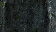 611-Symbols carved into pillar