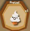 Pretzel Whipped Cream Muffin Halloween Candy