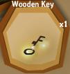 Wooden Key