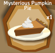 Mysterious Pumpkin Pie