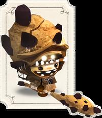 Grinns Knight Rockskin