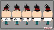 Kon's Character Sheets