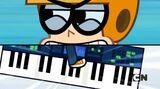 Kin steps on the keyboard