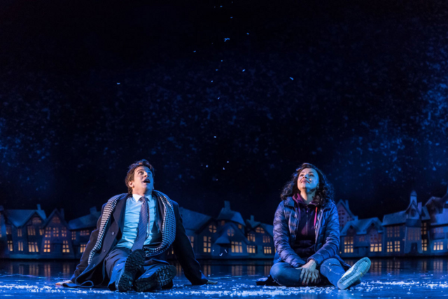 File:Andy Karl and Carlyss Peer as Phil Connors and Rita Hanson in the snow.png