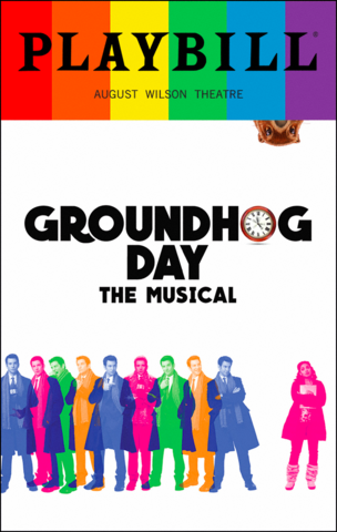 File:Groundhog Day Broadway June 2017 playbill.png