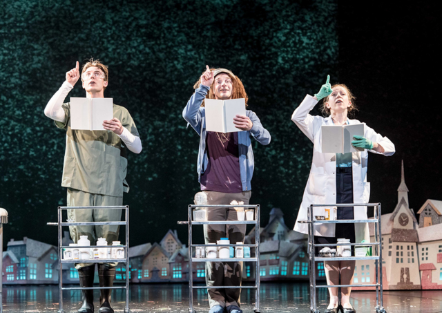 File:Ste Clough, Roger Dipper and Vicki Lee Taylor as healers in the London production.png