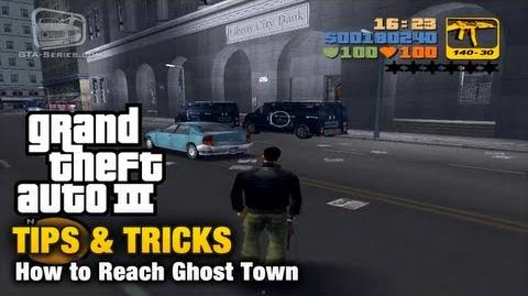 GTA 3 - Tips & Tricks - How to Reach Ghost Town