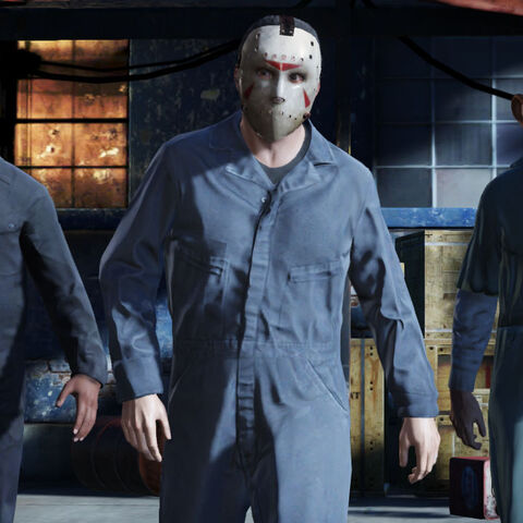 A hockey mask in GTA V.