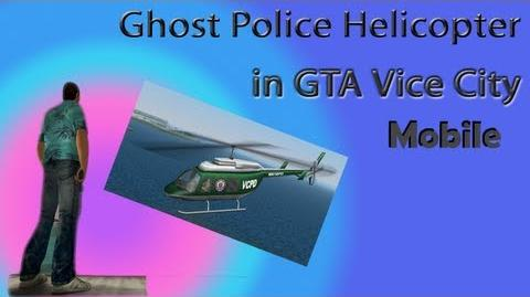 Ghost Police Helicopter in GTA Vice City --on iPad-- (SK)
