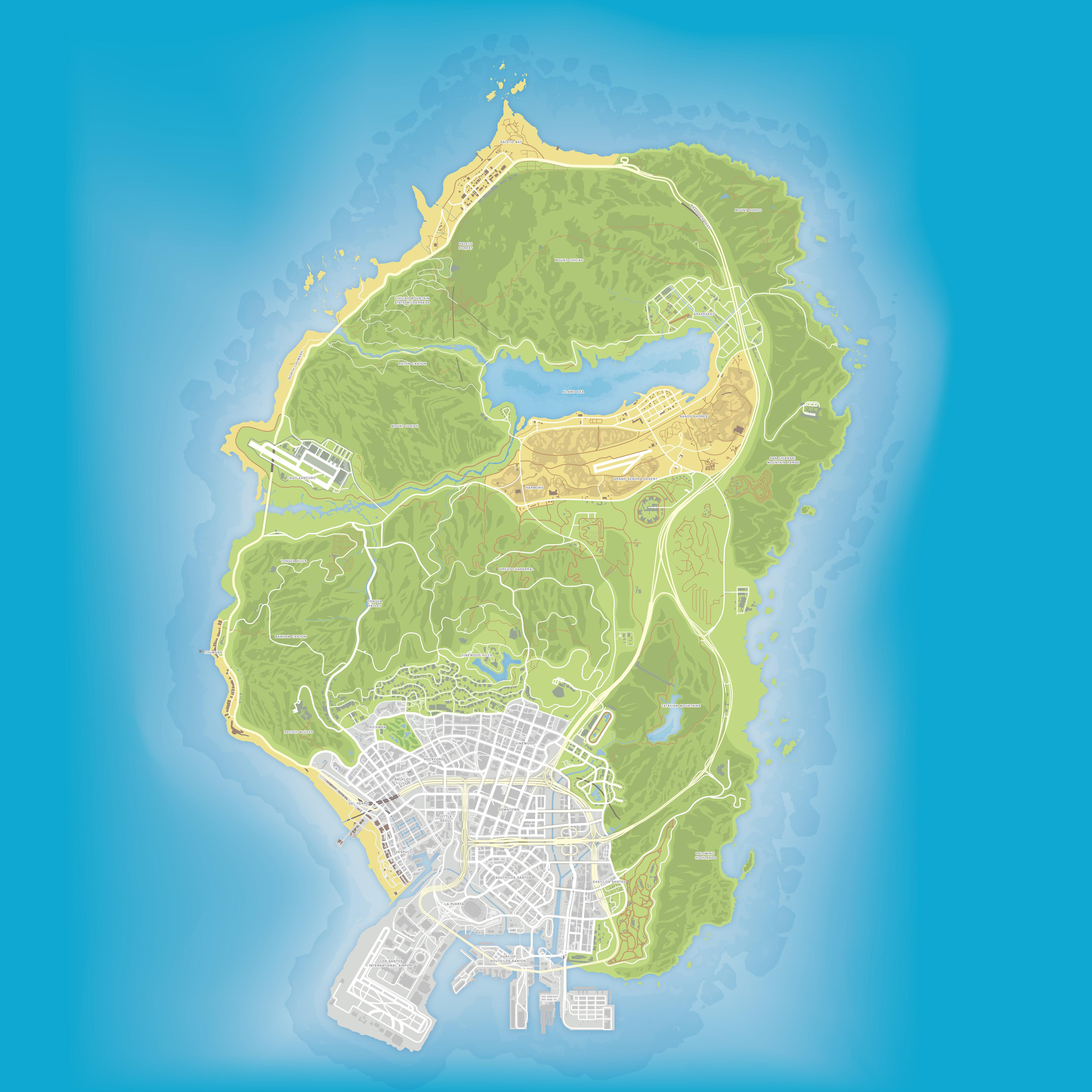 Map V on