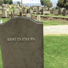 Another easter egg engraved on the tombstone.