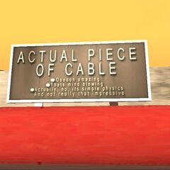 The sign in GTA SA just after the bridge facts sign.