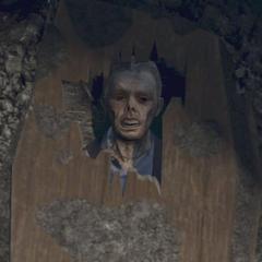 Brad's corpse.