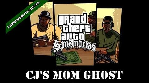 GTA San Andreas Myths & Legends - CJ's Mom Ghost HD