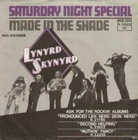 Saturday Night Special cover